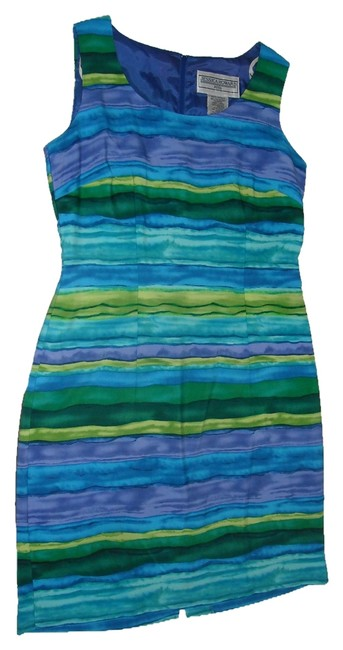 Preload https://item5.tradesy.com/images/jessica-howard-blue-purple-green-shades-above-knee-workoffice-dress-size-petite-6-s-2038724-0-0.jpg?width=400&height=650