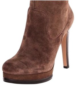 Nine West Brown and Black Boots