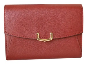 Cartier Cartier Red Leather C De Cartier Small Wallet