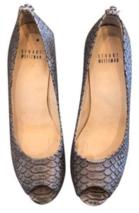 Stuart Weitzman brown Platforms