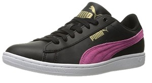 Puma Leather Suede black pink Athletic