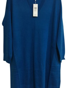 Eileen Fisher short dress Crystal Blue on Tradesy