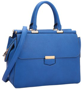 Other Classic Large Handbags Vintage The Treasured Hippie Satchel in Blue