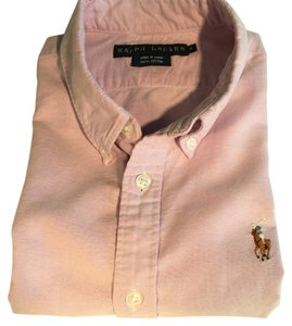 Ralph Lauren Button Down Shirt Pastel Purple