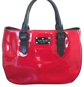 Kate Spade Satchel in Red Patent