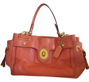 Coach Gold Hardware Shoulder Bag