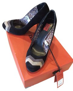Missoni Black and Tan Pumps