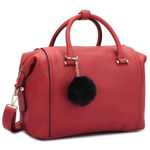 Classic Large Satchel in Red