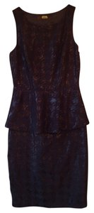 Anthropologie Peplum Eva Franco Sleeveless Dress