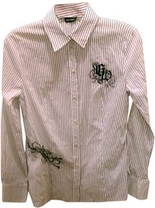 Gerry Weber Women Clothing Shirt Size 8 Color Button Down Shirt White
