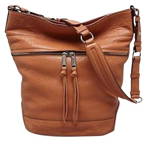 Rebecca Minkoff Quinn Bucket Hobo Boho Leather Shoulder Bag