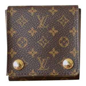 Louis Vuitton Louis Vuitton Brown Monogram Canvas Necklace Holder Case