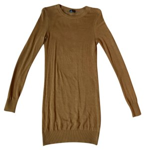 American Apparel short dress Whiskey Sweater Sweater on Tradesy