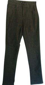 Lee Stretch Charcoal Embelished Pockets Straight Leg Jeans-Light Wash