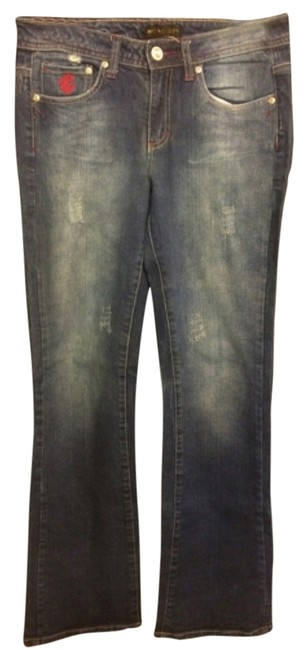 Rocawear Boot Cut Jeans-Light Wash