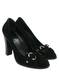 Gucci Heels Suede Heels Black Pumps