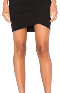 Michael Stars Mini Skirt Black