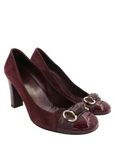 Gucci Heels Dark Red Pumps