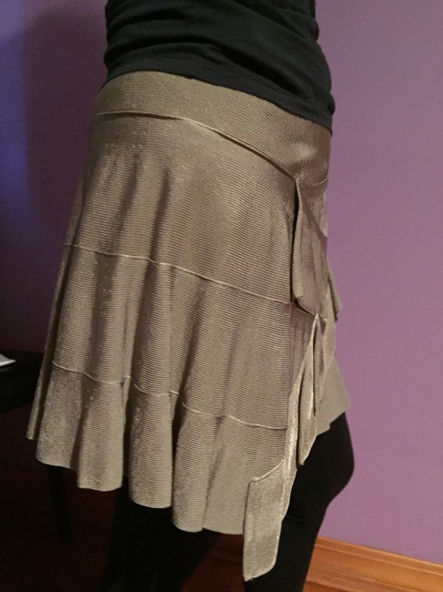 Plein Sud Mini Skirt beige