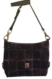 Dooney & Bourke Leather Crocodile Shoulder Bag
