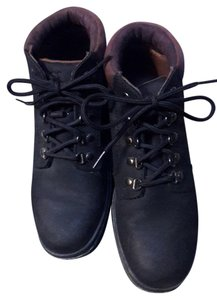 Timberland Rarely Worn! Leather Upper Black Boots