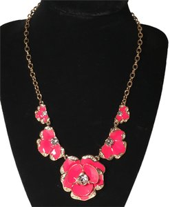 Kate Spade NWT Beach House Flower Bouquet Pendant Necklace