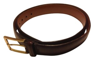 Brooks Brothers Brooks Brothers Burgundy Oxford Belt