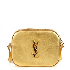 Saint Laurent Gold Clutch
