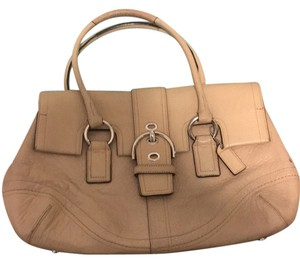 Coach Satchel in Nude