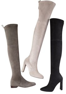 Stuart Weitzman taupe suede Boots