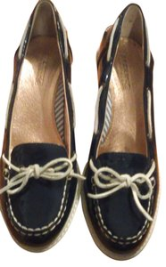 Sperry Blue Wedges