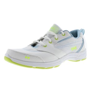 Ryka Teanna New With Box 8.5 Wide Sneakers White, Yellow Athletic