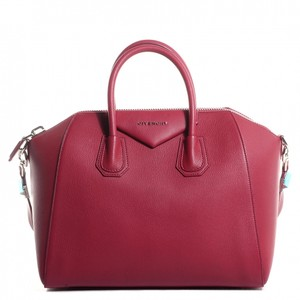 Givenchy Satchel in Cherry Red