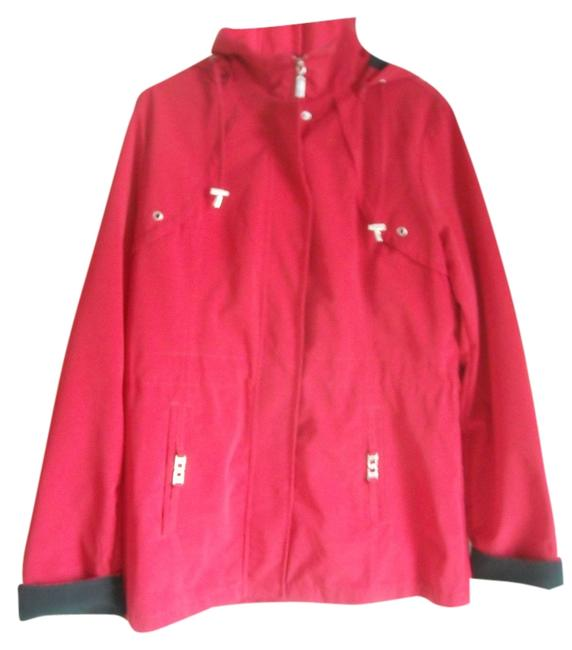 Preload https://item4.tradesy.com/images/george-red-raincoat-size-10-m-2038988-0-0.jpg?width=400&height=650