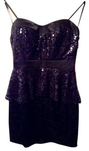 As U Wish Short Tube Sequin Dress