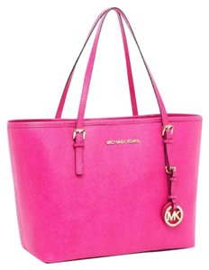 MICHAEL Michael Kors Travel Tote in Fuschia