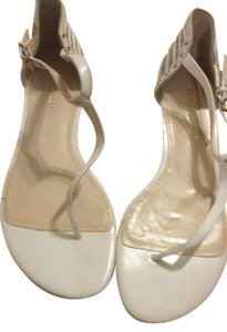 Enzo Angiolini White Sandals