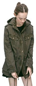 Talula Cinchable Military Jacket