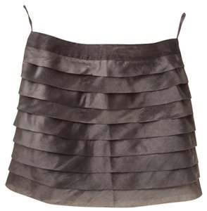 Reiss Mini Skirt Steel grey