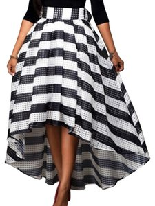 Caribbean Queen Maxi Skirt black