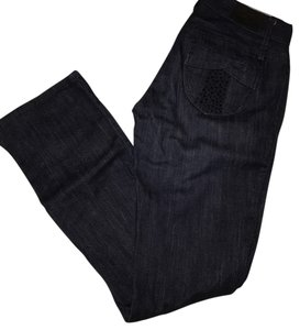 A|X Armani Exchange Straight Leg Jeans-Dark Rinse