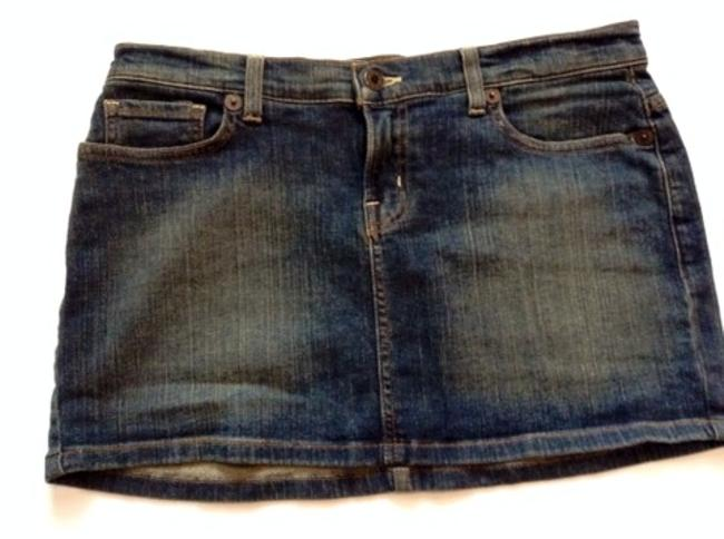 Guess Short Mini Skirt Medium wash