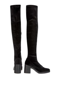 Topshop Must Have Cupid Over The Knee Stretch 38 Black Boots