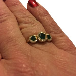 EFFY Effy Emerald and Diamond Ring