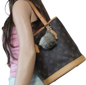 Louis Vuitton Monogram Vintage Bucket Samsung Apple Shoulder Bag