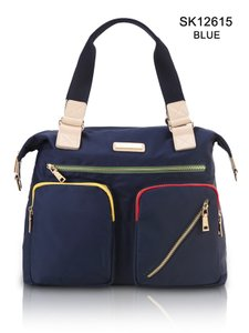 Sapsucker Nylon Navy Crossbody Diaper Shoulder Bag