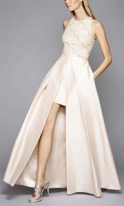 Adrianna Papell Champagne (blush) 09192224 Dress