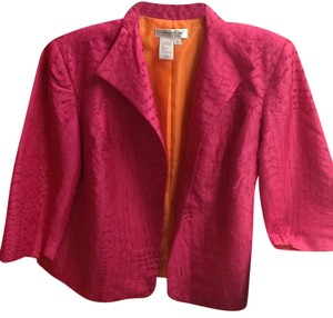 Coldwater Creek Magenta Blazer