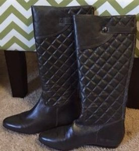 BCBGMAXAZRIA Saddle Dark Brown Boots