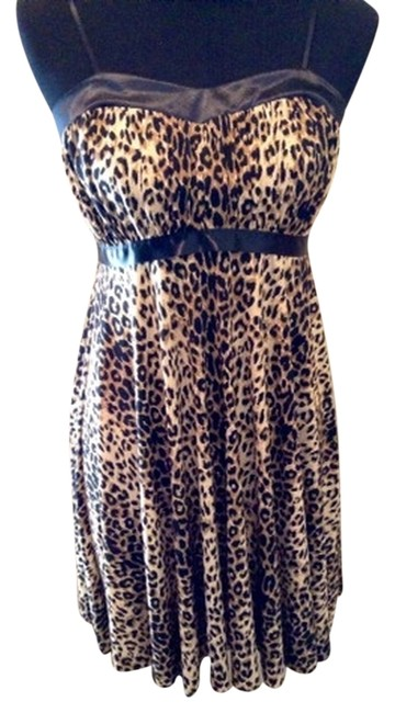 Preload https://item5.tradesy.com/images/wet-seal-blackbriwn-leopard-mid-length-night-out-dress-size-8-m-2039079-0-0.jpg?width=400&height=650